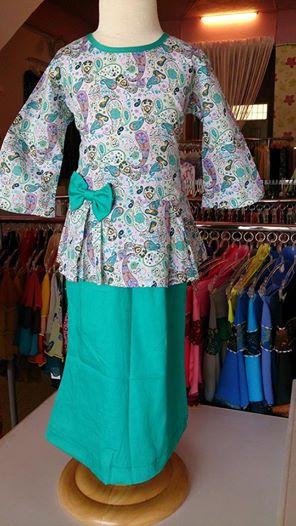 Fesyen Baju Kurung Kanak Kanak